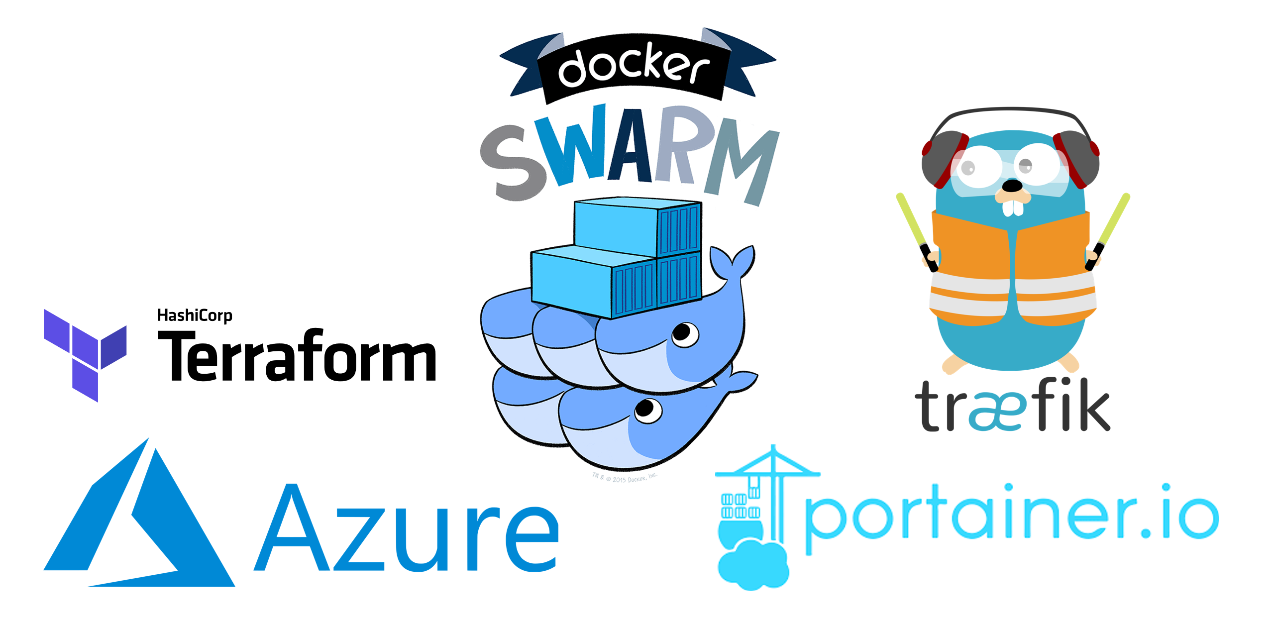 Creating a Windows Docker Swarm on Azure using Terraform, part IV: Easily navigate the nodes with SSH